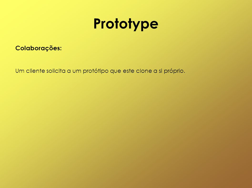 Prototype Colaborações: