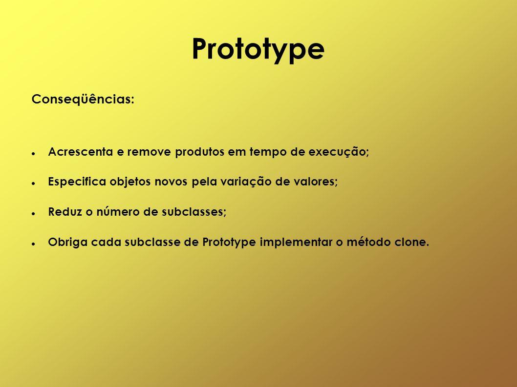 Prototype Conseqüências:
