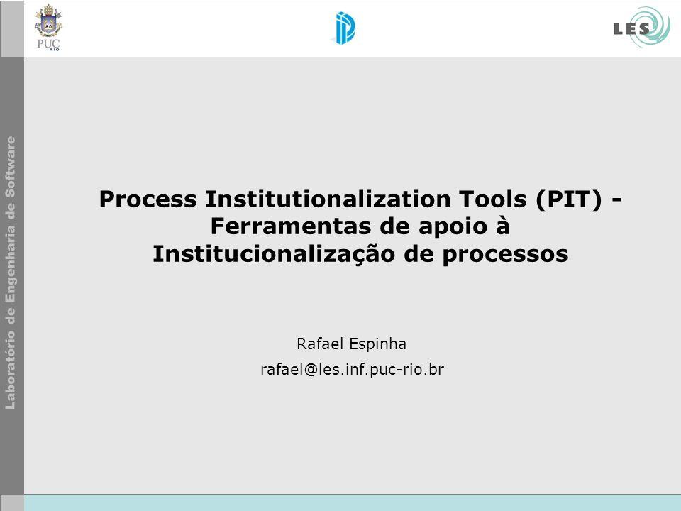 Rafael Espinha rafael@les.inf.puc-rio.br