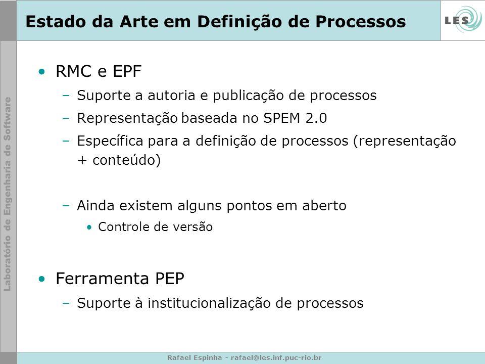 Estado da Arte em Definição de Processos