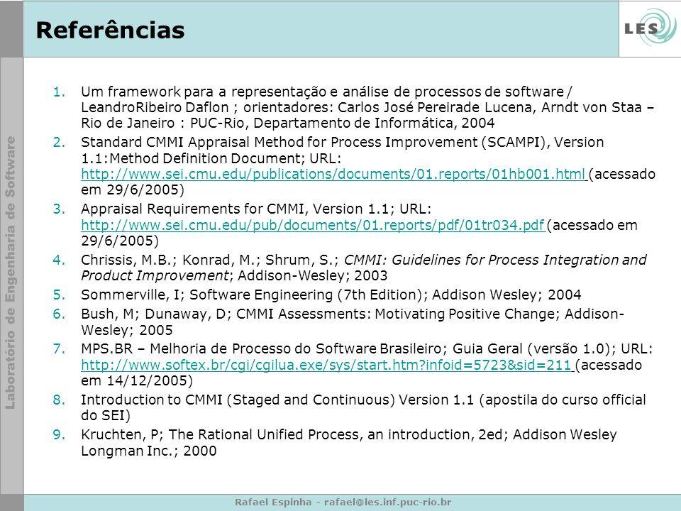 Rafael Espinha - rafael@les.inf.puc-rio.br