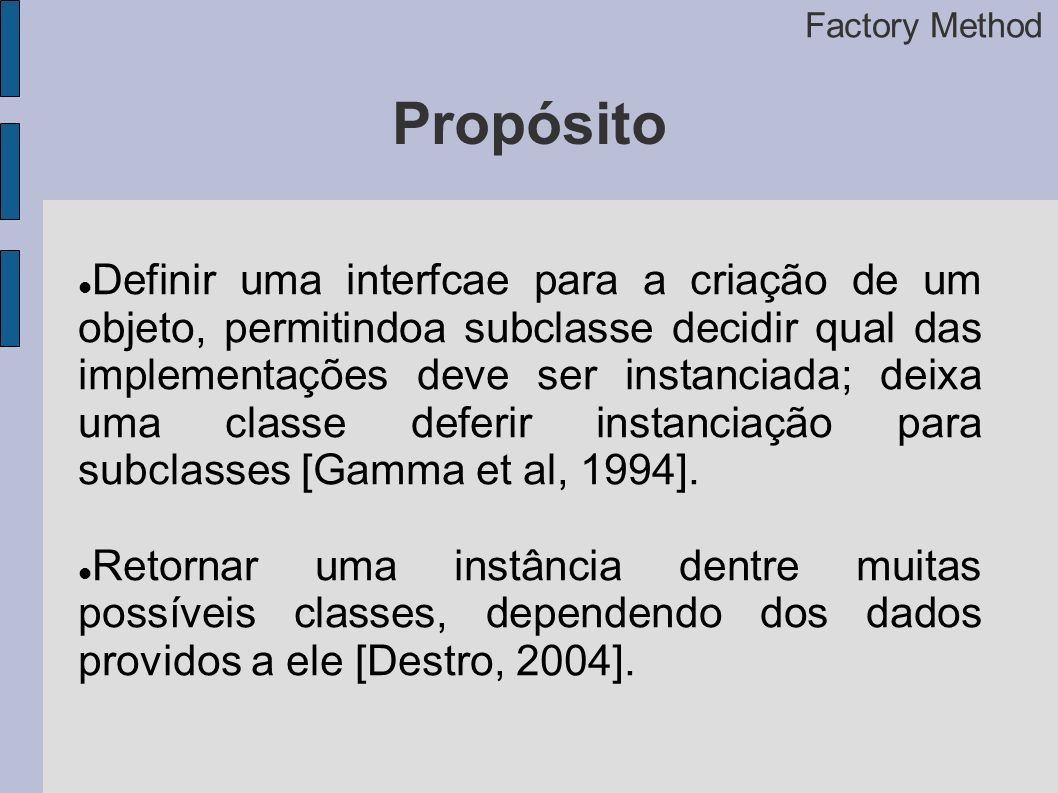 Factory Method Propósito.