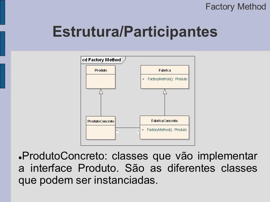 Estrutura/Participantes