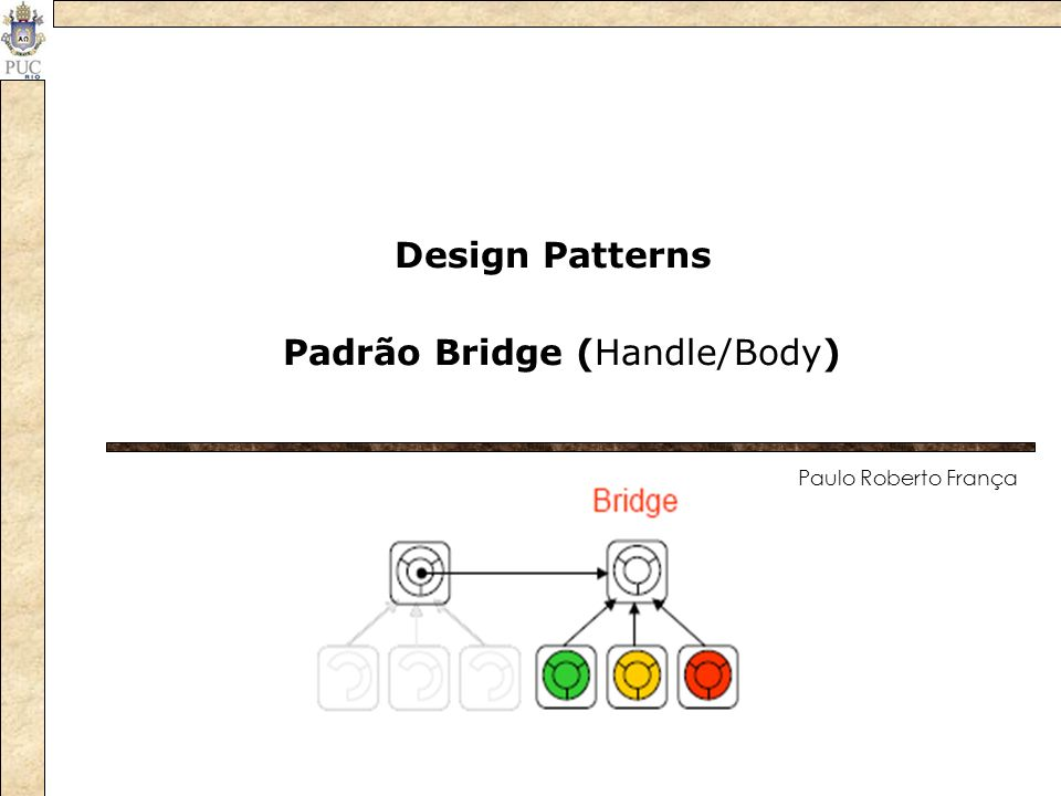 Padrão Bridge (Handle/Body)