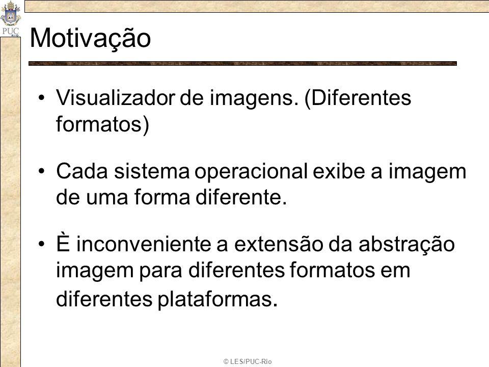 Motivação Visualizador de imagens. (Diferentes formatos)