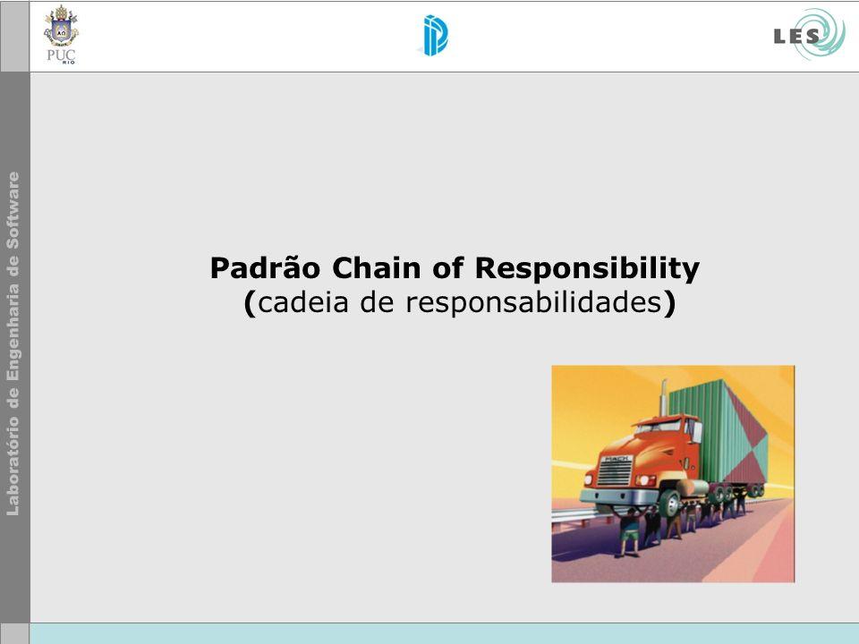 Padrão Chain of Responsibility (cadeia de responsabilidades)