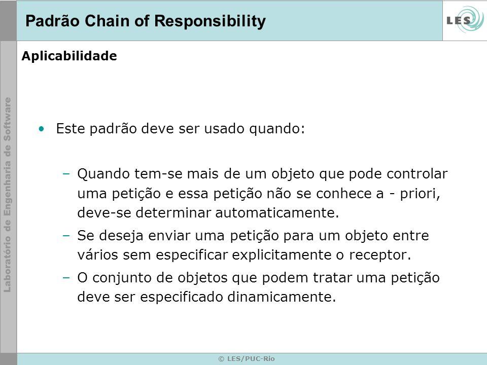 Padrão Chain of Responsibility