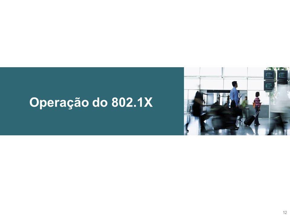 Operação do 802.1X