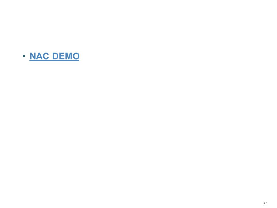 Demos NAC DEMO 62