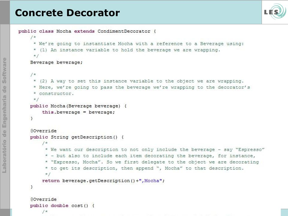Concrete Decorator © LES/PUC-Rio