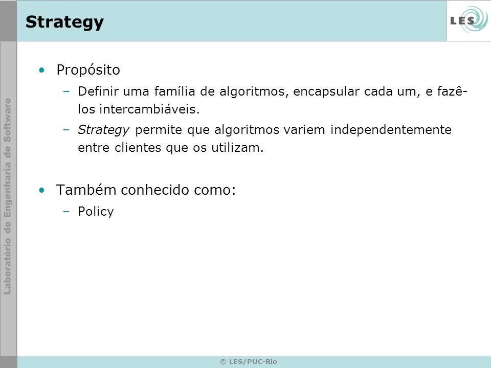 Strategy Propósito Também conhecido como: