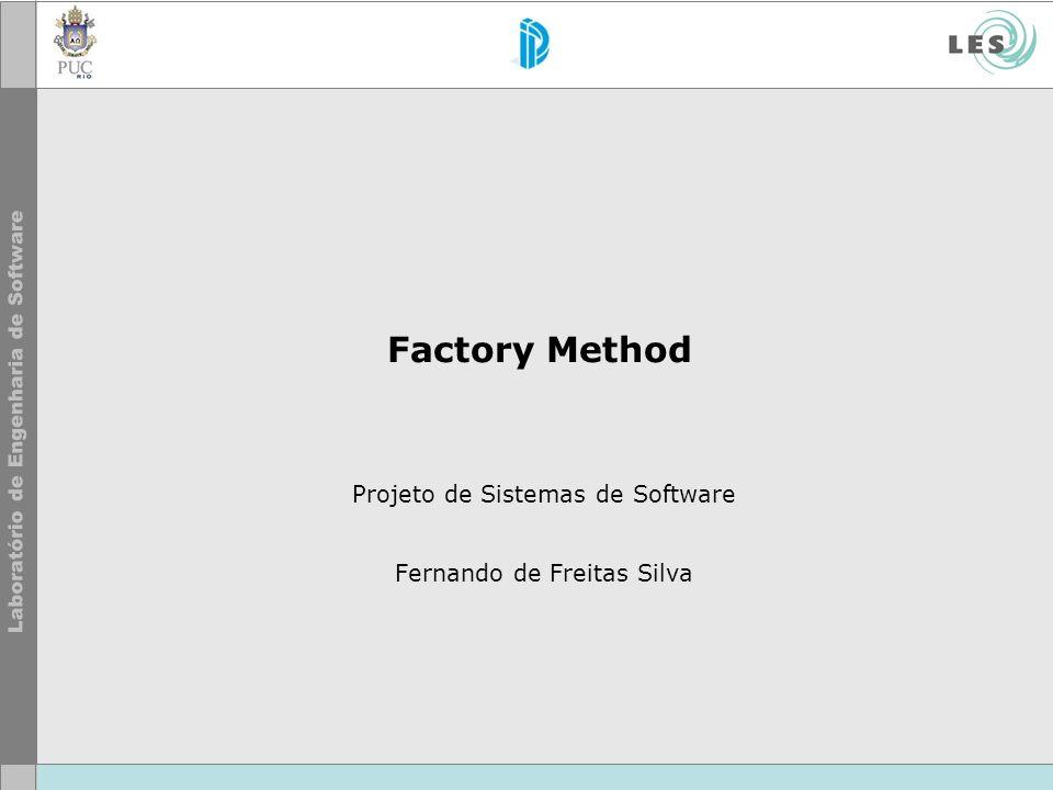 Projeto de Sistemas de Software Fernando de Freitas Silva