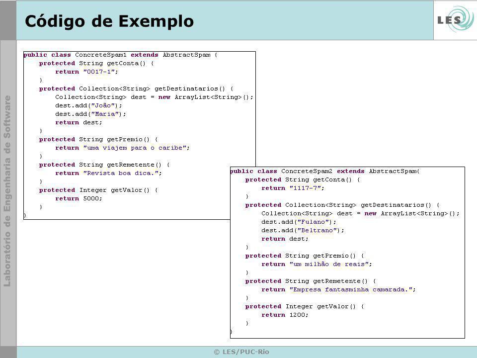 Código de Exemplo © LES/PUC-Rio