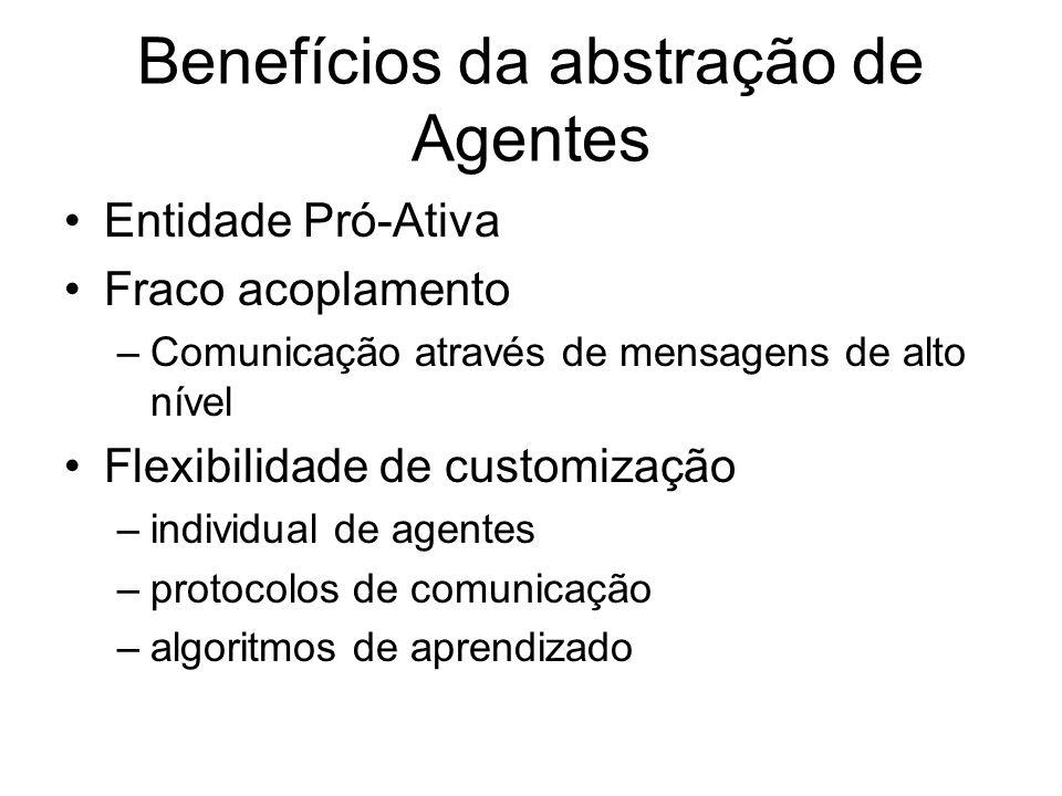 Benefícios da abstração de Agentes