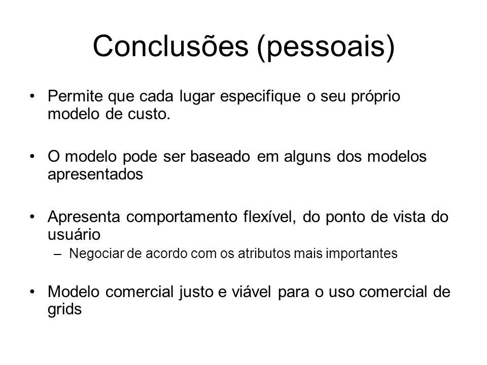 Conclusões (pessoais)