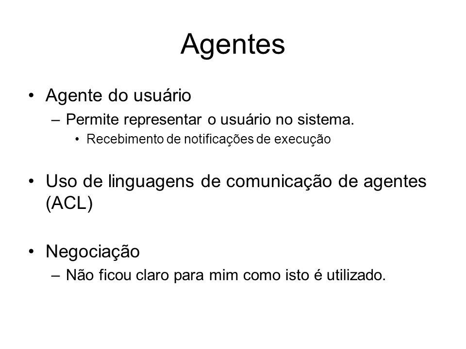 Agentes Agente do usuário
