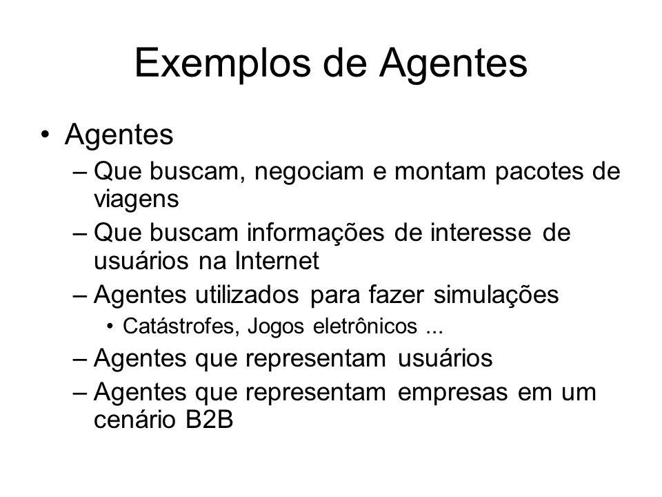 Exemplos de Agentes Agentes