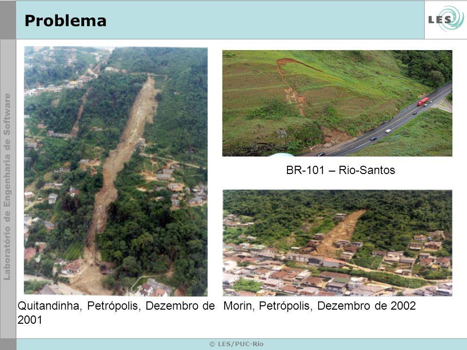 Problema BR-101 – Rio-Santos Quitandinha, Petrópolis, Dezembro de 2001