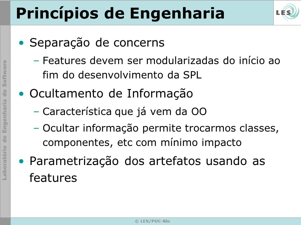 Princípios de Engenharia