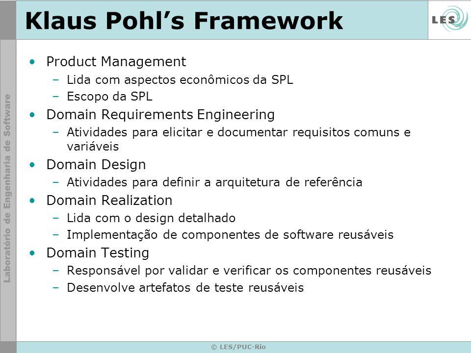 Klaus Pohl's Framework