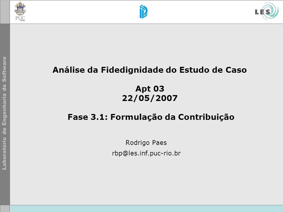 Rodrigo Paes rbp@les.inf.puc-rio.br