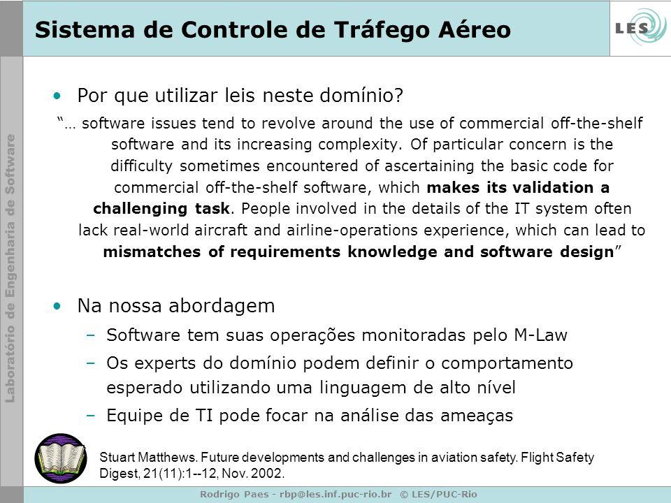 Sistema de Controle de Tráfego Aéreo