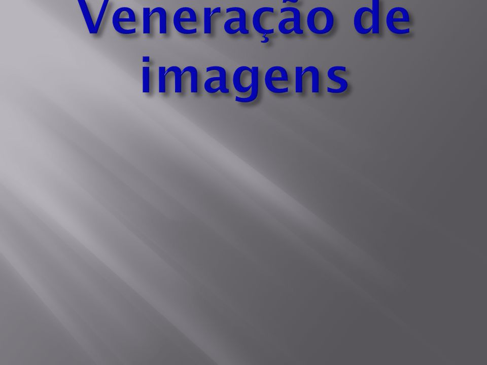 Veneração de imagens