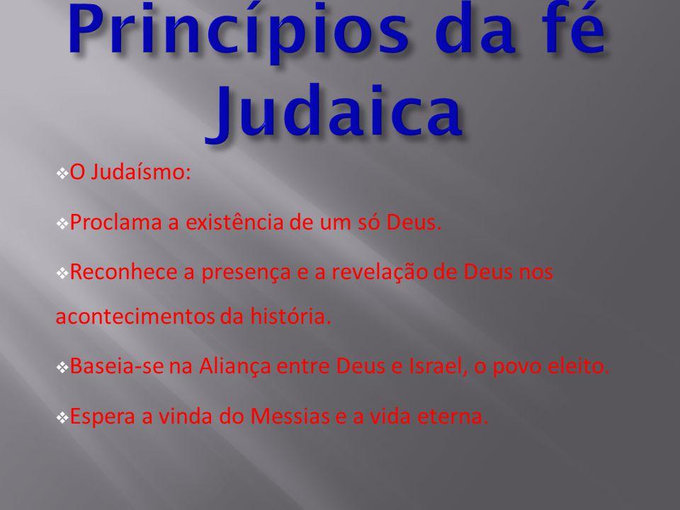Princípios da fé Judaica