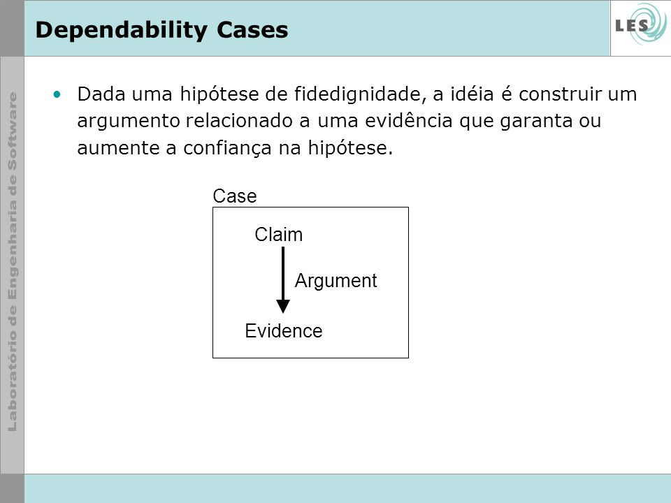 Dependability Cases