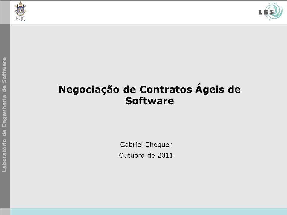 Negociação de Contratos Ágeis de Software