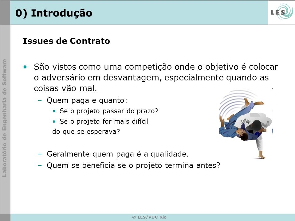 0) Introdução Issues de Contrato