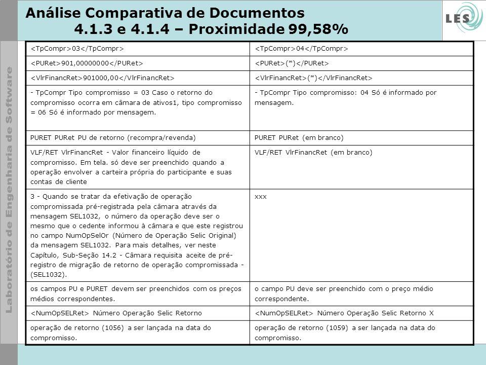 Análise Comparativa de Documentos 4.1.3 e 4.1.4 – Proximidade 99,58%