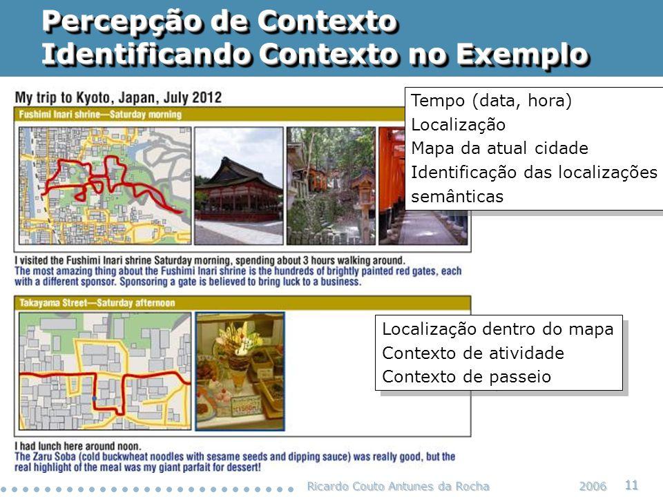 Percepção de Contexto Identificando Contexto no Exemplo