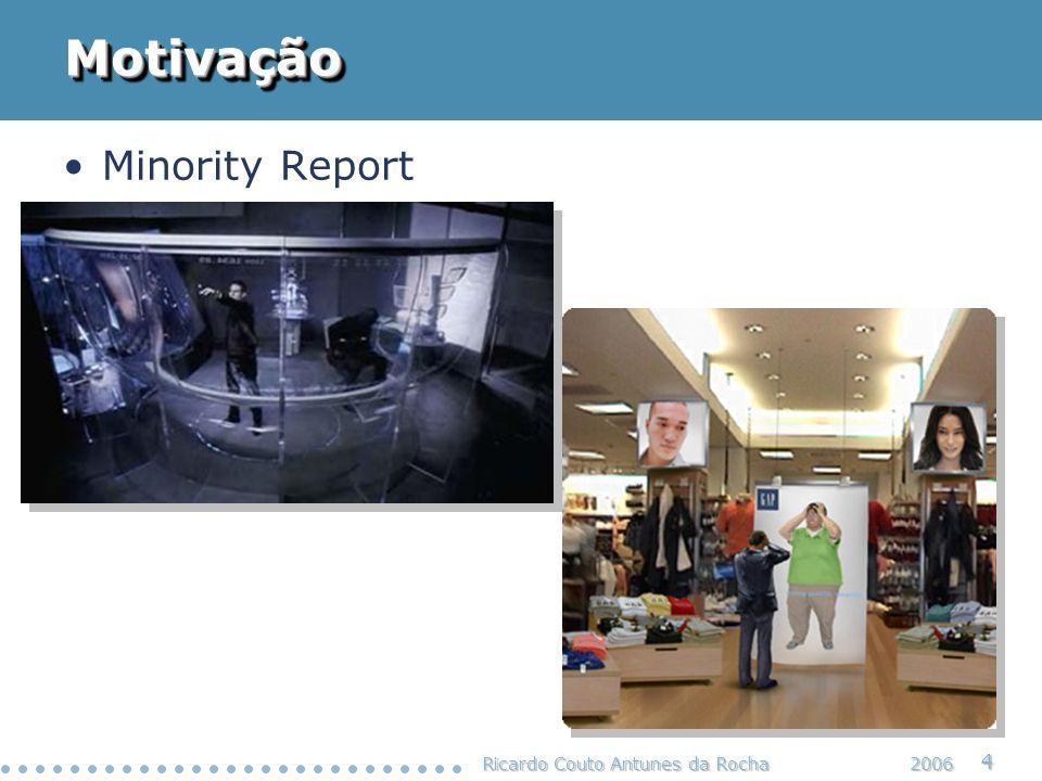 Motivação Minority Report