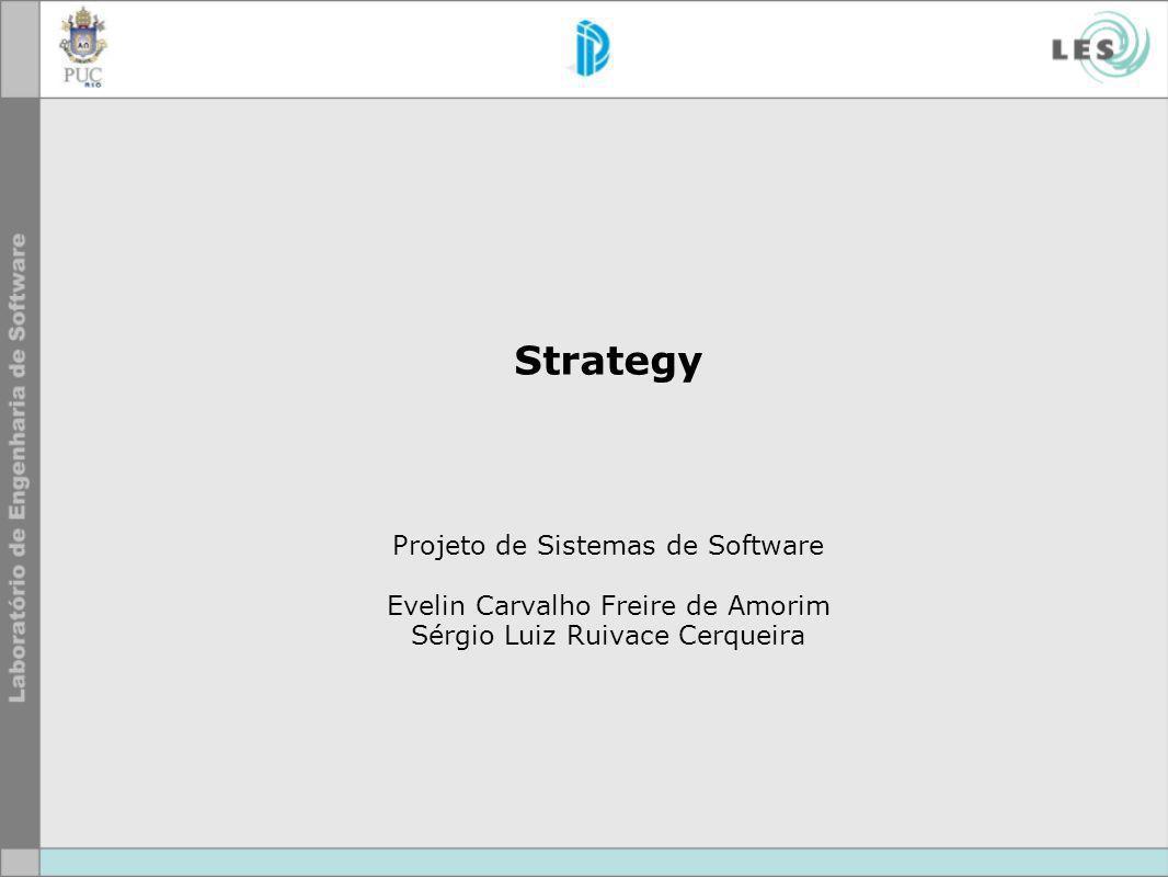 Strategy Projeto de Sistemas de Software