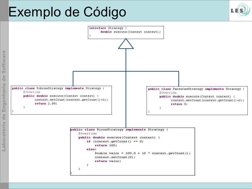 Exemplo de Código
