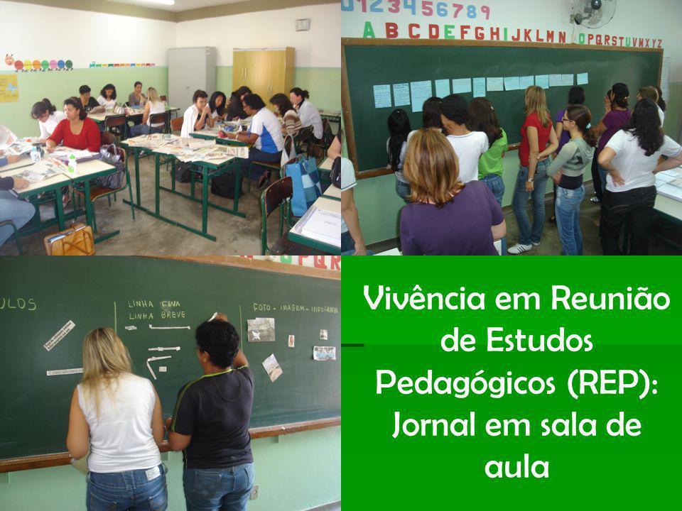 dfd Vivência em Reunião de Estudos Pedagógicos (REP): Jornal em sala de aula