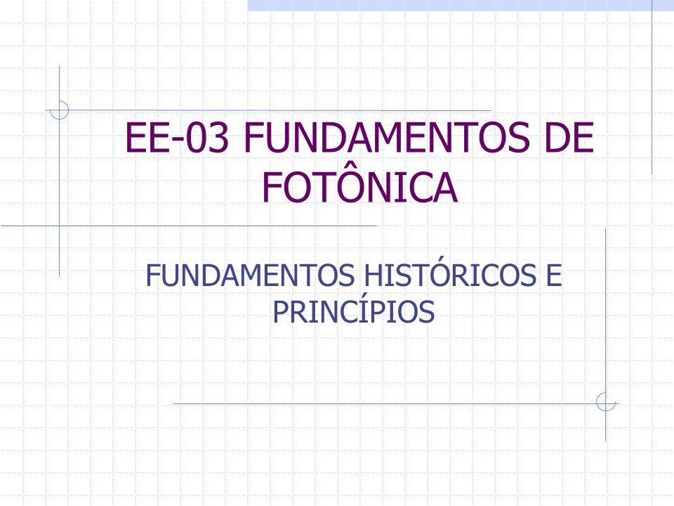 EE-03 FUNDAMENTOS DE FOTÔNICA
