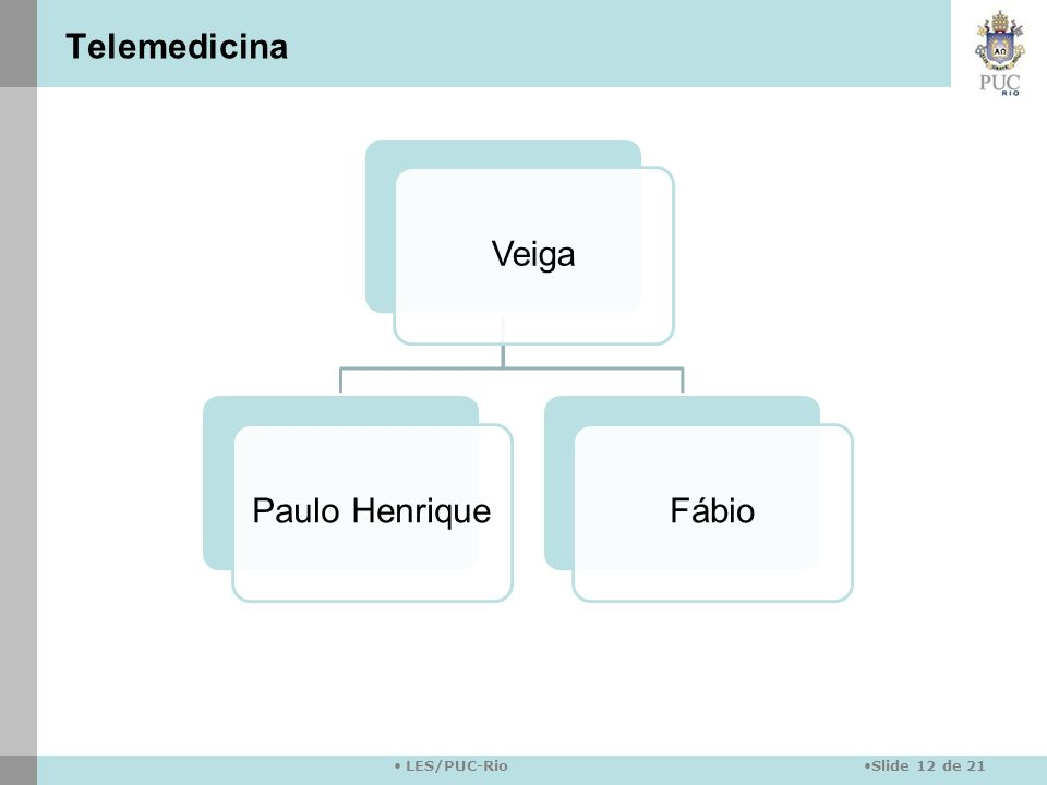 Telemedicina Veiga Paulo Henrique Fábio