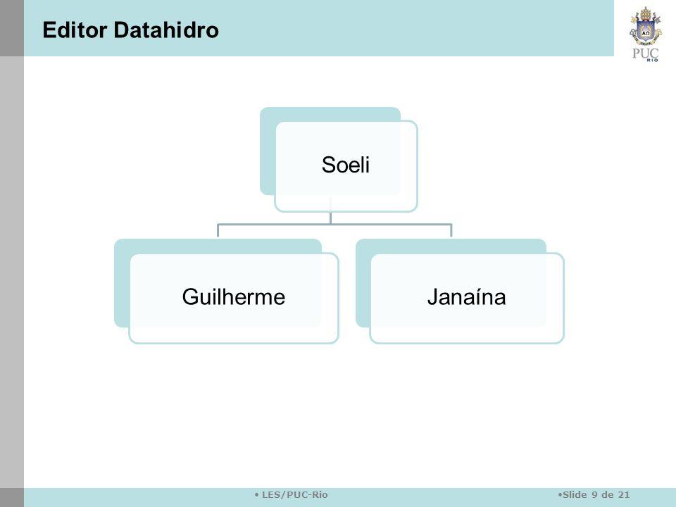 Editor Datahidro Soeli Guilherme Janaína