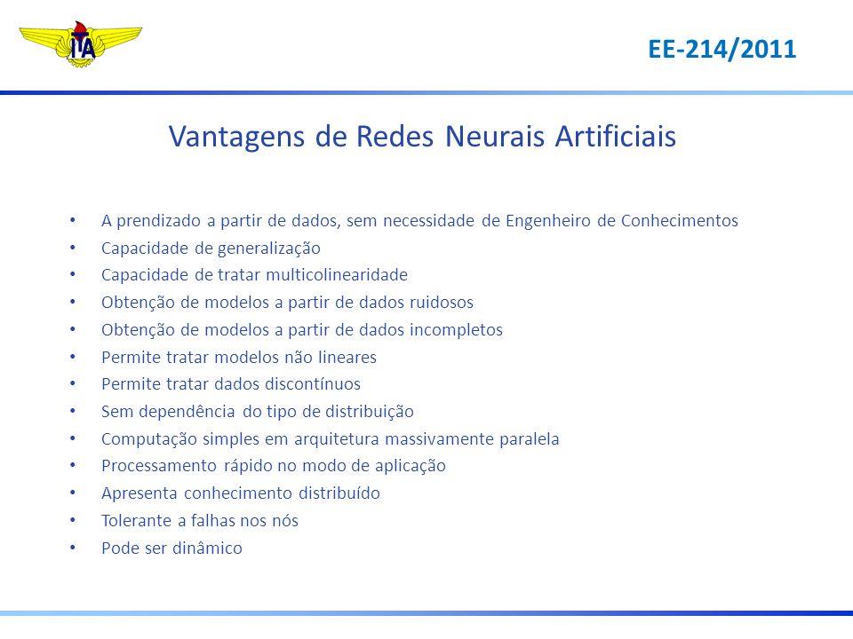 Vantagens de Redes Neurais Artificiais