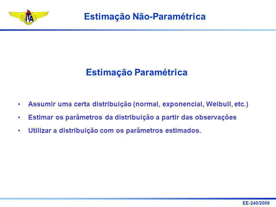Estimação Paramétrica
