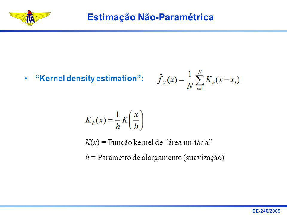 Kernel density estimation :