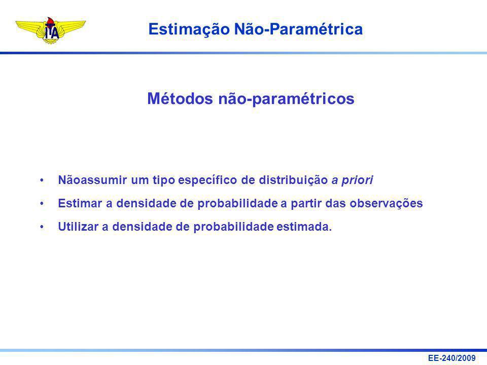 Métodos não-paramétricos