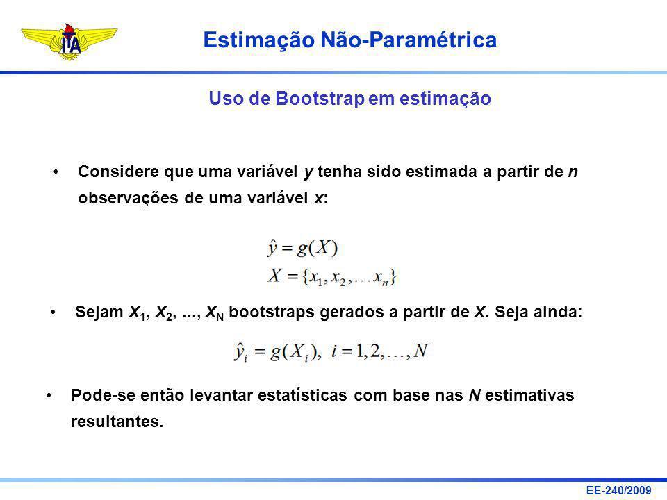 Uso de Bootstrap em estimação