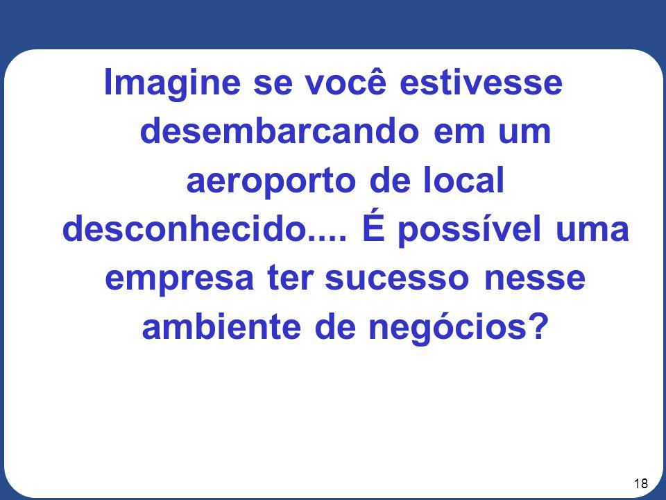 Imagine se você estivesse desembarcando em um aeroporto de local desconhecido....