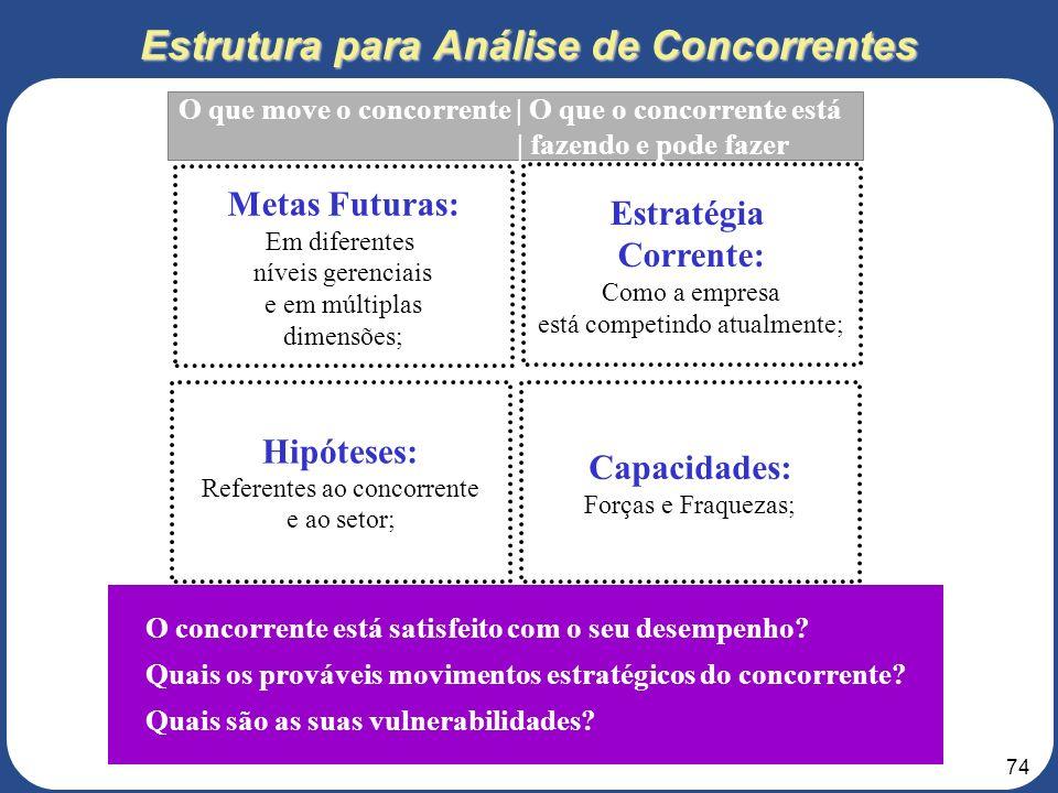 Estrutura para Análise de Concorrentes