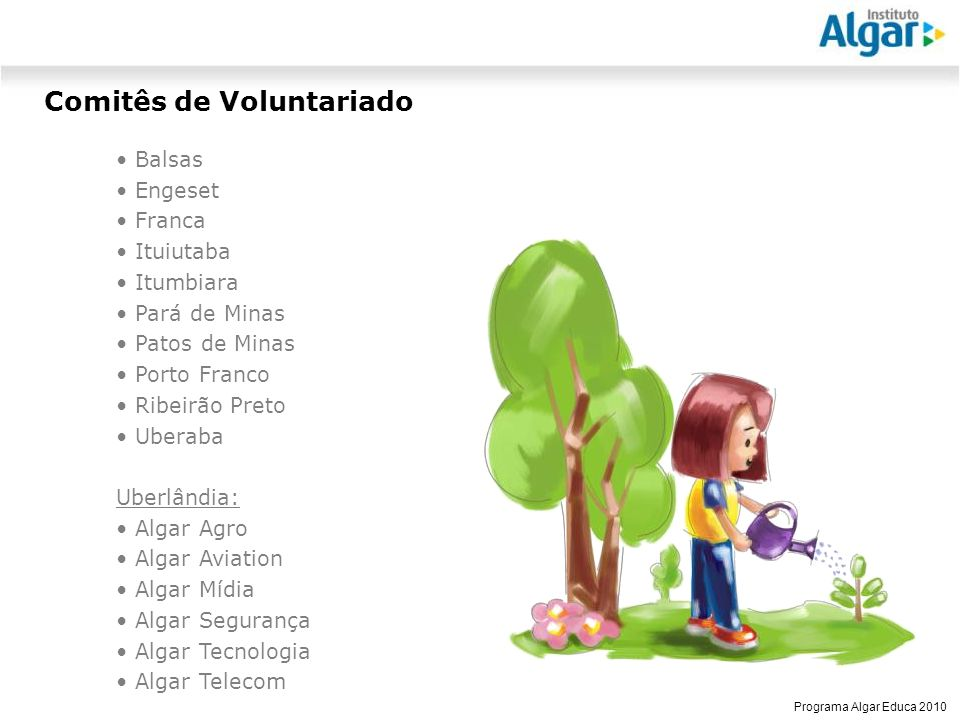 Comitês de Voluntariado