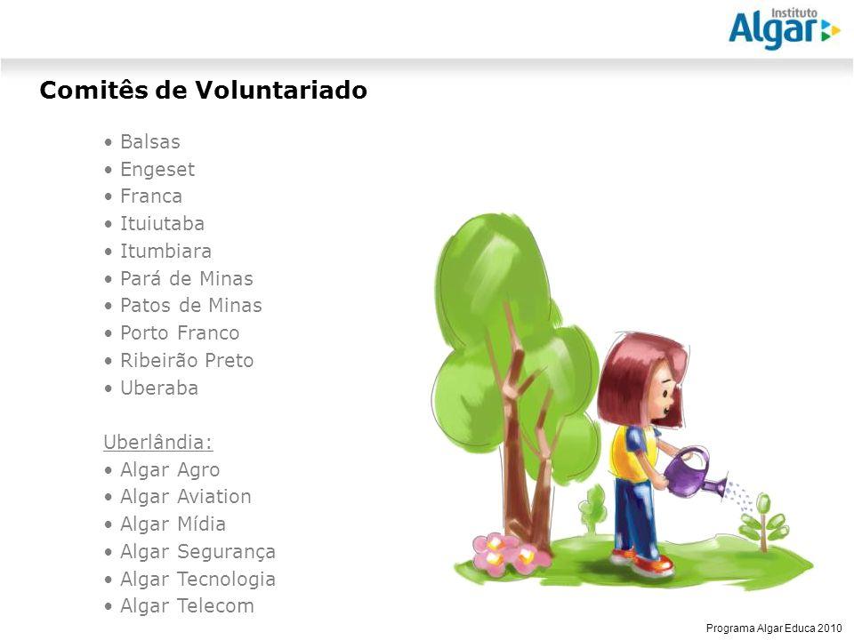 Comitês de Voluntariado