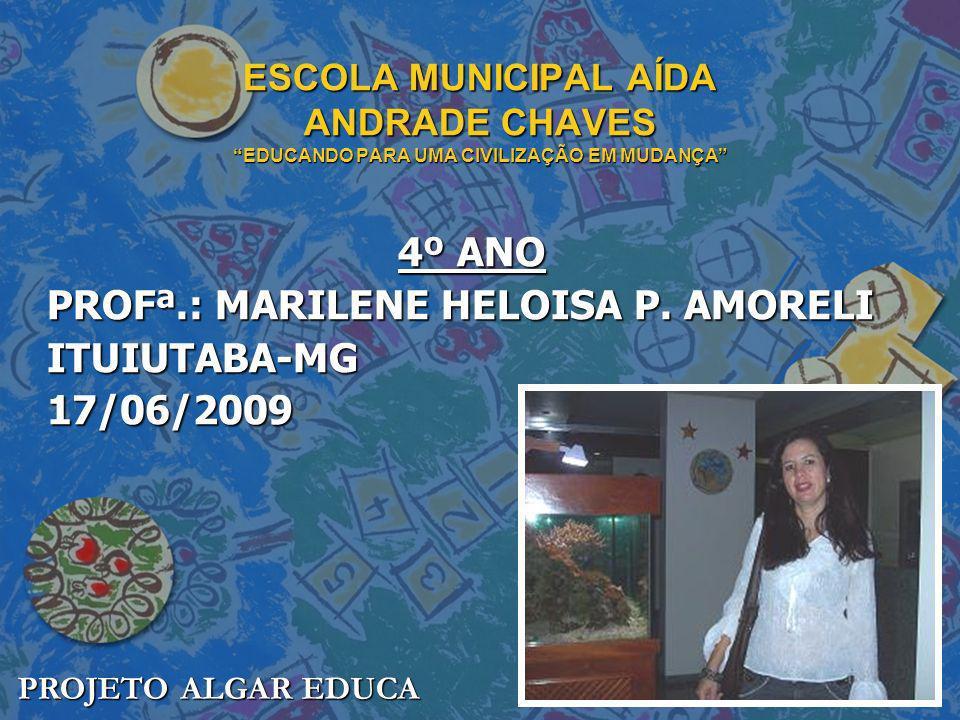 4º ANO PROFª.: MARILENE HELOISA P. AMORELI ITUIUTABA-MG 17/06/2009